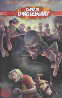 Cover Thumbnail for Captain Dingleberry (Underhanded Comics, 1998 series) #4