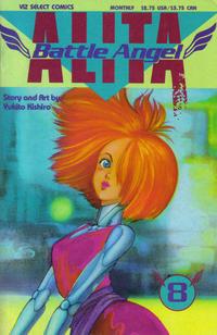 Cover Thumbnail for Battle Angel Alita (Viz, 1992 series) #8