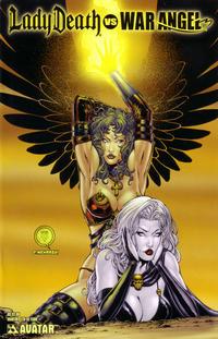 Cover Thumbnail for Brian Pulido's Lady Death vs War Angel (Avatar Press, 2006 series) #1 [Martin]