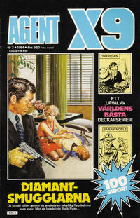 Cover Thumbnail for Agent X9 (Semic, 1971 series) #3/1984