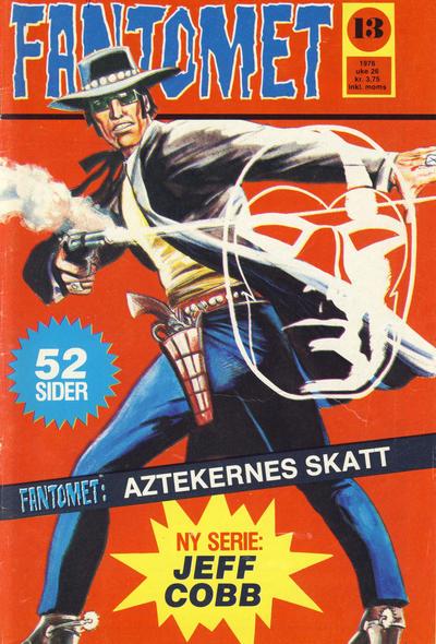 Cover for Fantomet (Nordisk Forlag, 1973 series) #13/1976