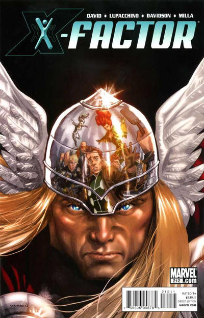 Cover for X-Factor (Marvel, 2006 series) #212