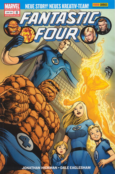 Cover for Fantastic Four (Panini Deutschland, 2009 series) #6