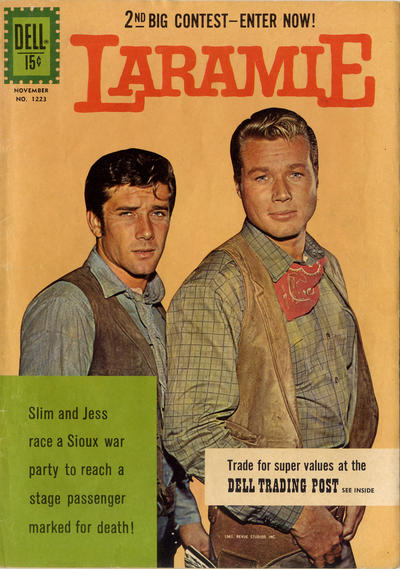 Cover for Four Color (Dell, 1942 series) #1223 [ad] - Laramie
