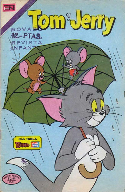 Cover for Tom y Jerry (Editorial Novaro, 1951 series) #407