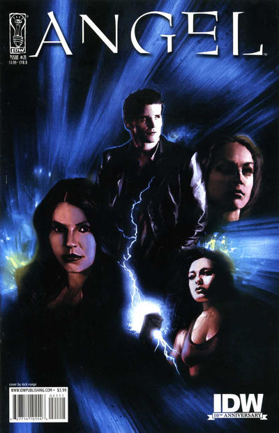 Cover for Angel (IDW, 2009 series) #21 [Cover B - Nick Runge]