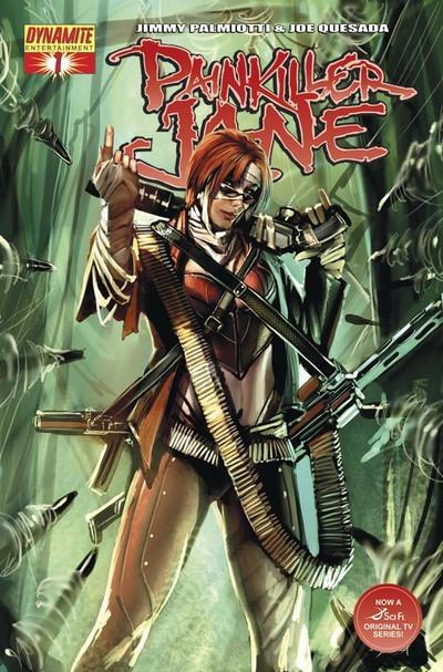 Cover for Painkiller Jane (Dynamite Entertainment, 2007 series) #1 [Negative Art Incentive Cover]