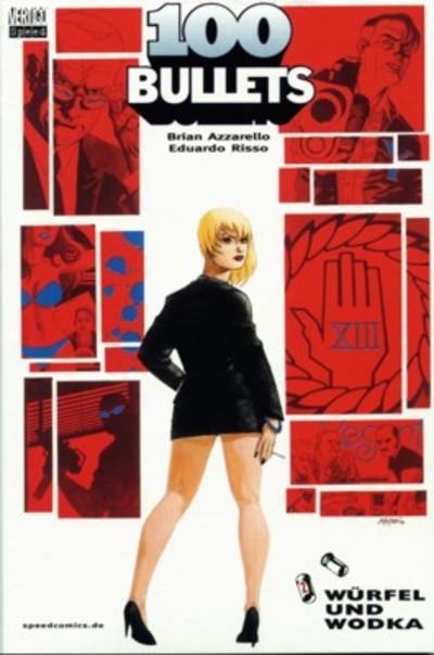 Cover for 100 Bullets (Tilsner, 2001 series) #2 - Würfel und Wodka
