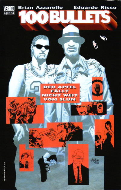 Cover for 100 Bullets (Tilsner, 2001 series) #5 - Der Apfel fällt nicht weit vom Slum