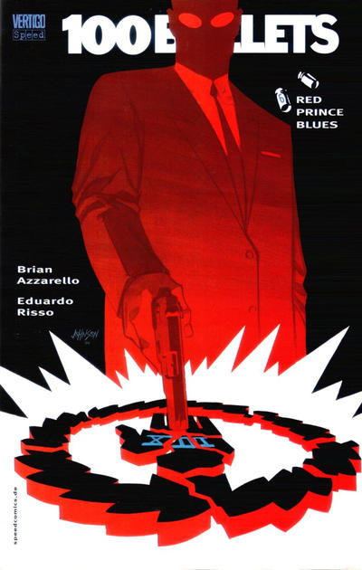 Cover for 100 Bullets (Tilsner, 2001 series) #6 - Red Prince Blues