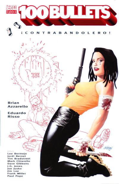 Cover for 100 Bullets (Tilsner, 2001 series) #7 - Contrabandolero!