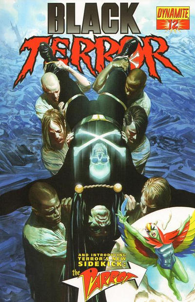Cover for Black Terror (Dynamite Entertainment, 2008 series) #12 [Negative Art Chase Cover]