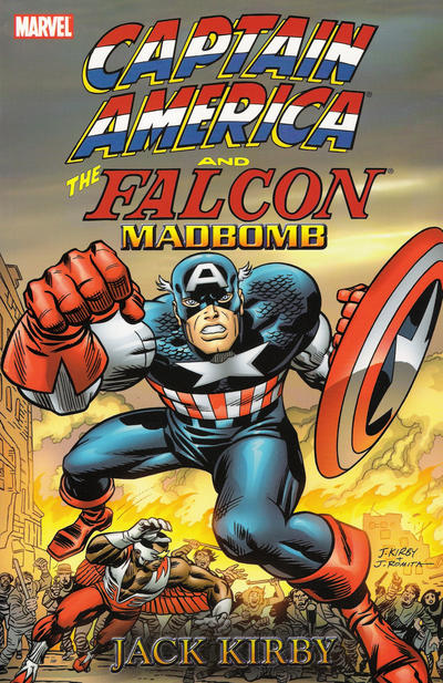 Cover for Captain America & The Falcon: Madbomb (Marvel, 2004 series)