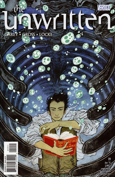 Cover for The Unwritten (DC, 2009 series) #19