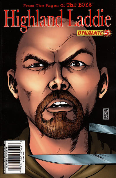Cover for The Boys: Highland Laddie (Dynamite Entertainment, 2010 series) #5