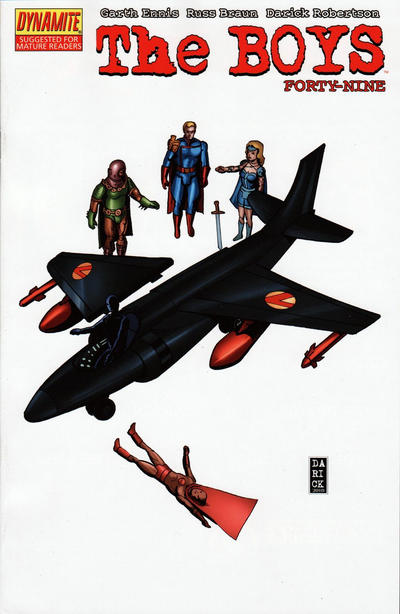 Cover for The Boys (Dynamite Entertainment, 2007 series) #49