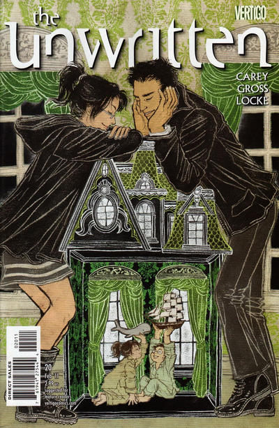 Cover for The Unwritten (DC, 2009 series) #20