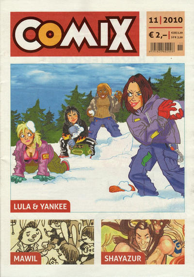 Cover for Comix (JNK, 2010 series) #11/2010