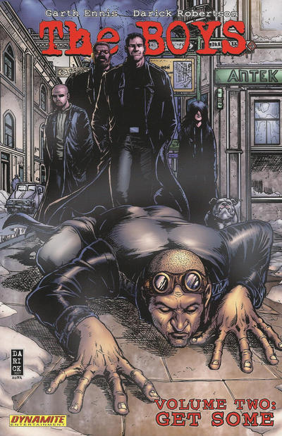 Cover for The Boys (Dynamite Entertainment, 2007 series) #2