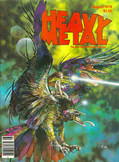 Cover for Heavy Metal Magazine (Heavy Metal, 1977 series) #v2#4 [Direct Sales]