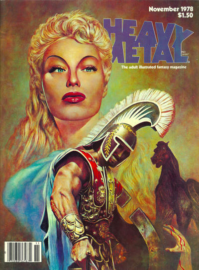 Cover for Heavy Metal Magazine (HM Communications, Inc., 1977 series) #v2#7 [Direct Sales]