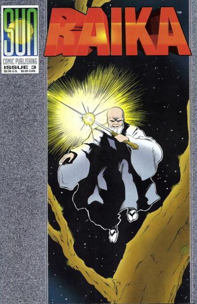 Cover for Raika (Sun Comic Publishing, 1992 series) #3