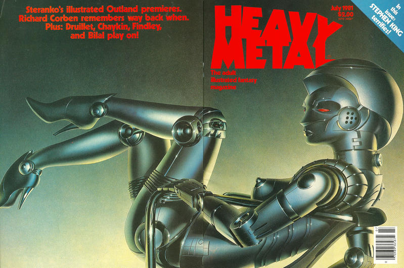 Cover for Heavy Metal Magazine (Heavy Metal, 1977 series) #v5#4 [Direct Sales]