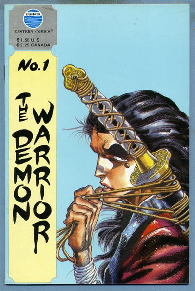 Cover for The Demon Warrior (Eastern Comics, 1987 series) #1