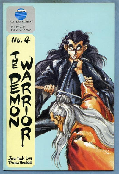 Cover for The Demon Warrior (Eastern Comics, 1987 series) #4