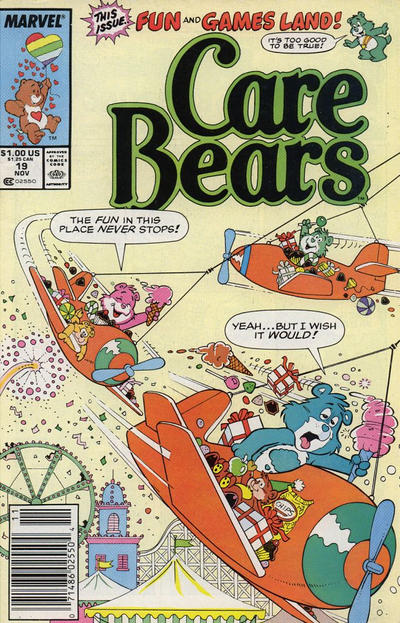 Cover for Care Bears (Marvel, 1985 series) #19 [Direct]