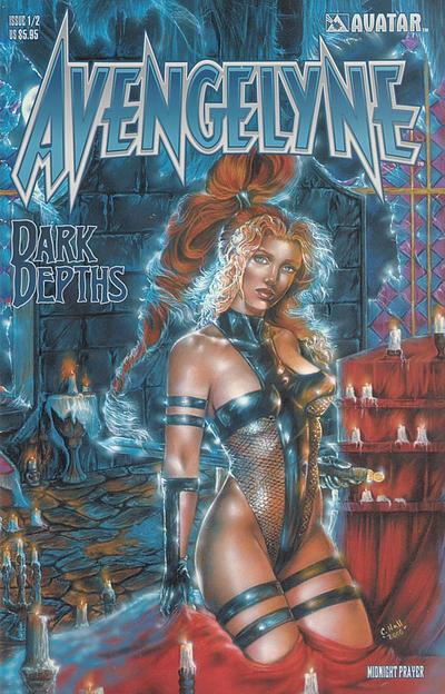 Cover for Avengelyne: Dark Depths (Avatar Press, 2001 series) #1/2 [Rio]