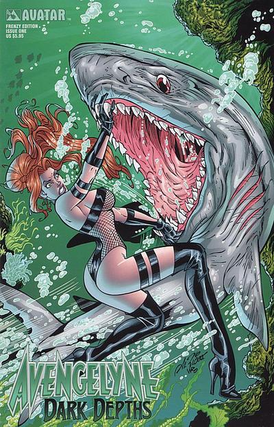 Cover for Avengelyne: Dark Depths (Avatar Press, 2001 series) #1 [Rio]