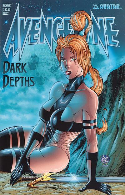 Cover for Avengelyne: Dark Depths (Avatar Press, 2001 series) #2 [Rio]
