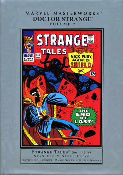 Cover for Marvel Masterworks: Doctor Strange (Marvel, 2003 series) #2 [Regular Edition]
