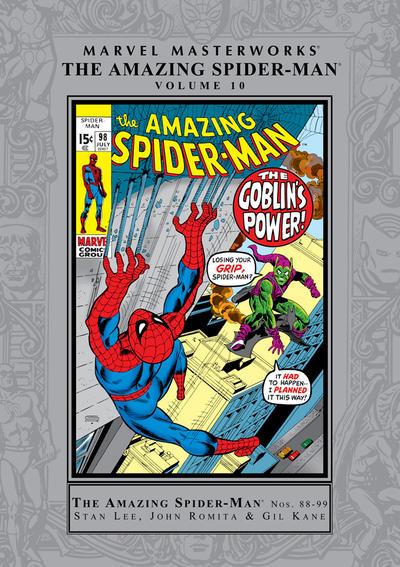 Cover for Marvel Masterworks: The Amazing Spider-Man (Marvel, 2003 series) #10 [Regular Edition]