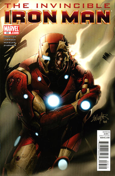 Cover for Invincible Iron Man (Marvel, 2008 series) #33