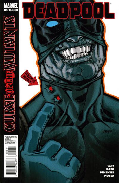 Cover for Deadpool (Marvel, 2008 series) #30