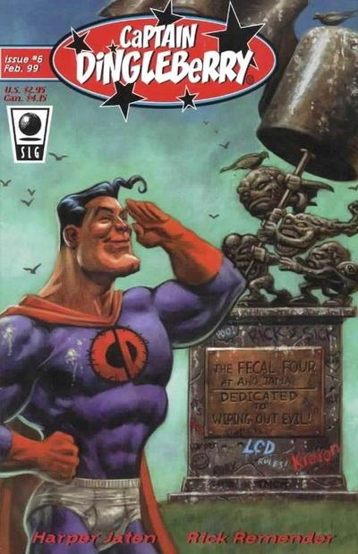 Cover for Captain Dingleberry (Slave Labor, 1998 series) #6