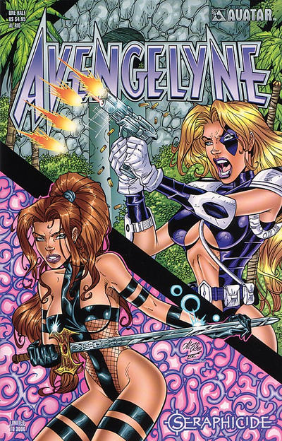 Cover for Avengelyne: Seraphicide (Avatar Press, 2001 series) #1/2 [Shaw]