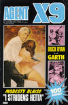Cover for Agent X9 (Semic, 1971 series) #12/1985