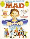 Cover for Mad's stora julpajare (Semic, 1982 series) #1983