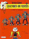 Cover for Lucky Luke (Hjemmet / Egmont, 1991 series) #69 - Legenden om vesten [Reutsendelse bc 803 42]