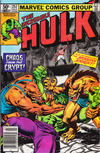 Cover Thumbnail for The Incredible Hulk (1968 series) #257 [Newsstand]