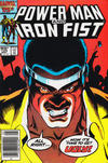 Cover Thumbnail for Power Man and Iron Fist (1981 series) #123 [Canadian newsstand edition]