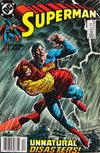 Cover for Superman (DC, 1987 series) #38 [Newsstand]