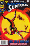 Cover Thumbnail for Adventures of Superman (1987 series) #480 [Newsstand]