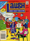 Cover for Laugh Comics Digest (Archie, 1974 series) #67 [Canadian]