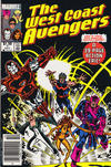 Cover for West Coast Avengers (Marvel, 1985 series) #1 [Canadian]