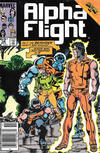 Cover Thumbnail for Alpha Flight (1983 series) #28 [Newsstand Edition]