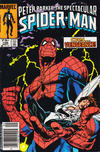 Cover Thumbnail for The Spectacular Spider-Man (1976 series) #106 [newsstand]
